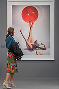Work by Horst P Horst 1941 in Bernheimer Fine Art - Frieze Masters London 2016, Regents Park, London. It covers several thousand years of art from 130 of the world's leading modern and historical galleries. The vetted artworks spanning antiquities, Asian art, ethnographic art, illuminated manuscripts, Medieval, modern and post-war, Old Masters and 19th-century, photography, sculpture and Wunderkammer.  The fair is open to the public 06-09 October.