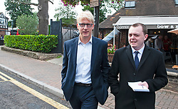 ©Licensed to London News Pictures 06/09/2019.<br /> Pettswood ,UK.Jo Johnson MP has resigned. Jo Johnson leaving the Cow and Bean cafe in Pettswood, South East London this afternoon after a local Friday surgery meeting. Photo credit: Grant Falvey/LNP