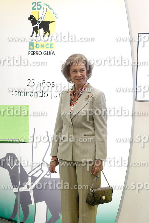 24.09.2015, Madrid, ESP, 25 Jahre Perro Guia ONCEs Foundation, im Bild Queen Sofia of Spain // during the 25th anniversary of 'Perro Guia ONCE's Foundation'. in Madrid, Spain on 2015/09/24. EXPA Pictures &copy; 2015, PhotoCredit: EXPA/ Alterphotos/ Acero<br /> <br /> *****ATTENTION - OUT of ESP, SUI*****