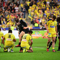 Joy for Toulouse and disappointment for Clermont following  the Top 14 Final between Toulouse and Clermont at Stade de France on June 15, 2019 in Paris, France. (Photo by Dave Winter/Icon Sport)
