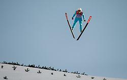 01.01.2015, Olympiaschanze, Garmisch Partenkirchen, GER, FIS Ski Sprung Weltcup, 63. Vierschanzentournee, Bewerb, im Bild Vincent Descombes Sevoie (FRA) // during Competition Round of 63rd Four Hills Tournament of FIS Ski Jumping World Cup at the Olympiaschanze, Garmisch Partenkirchen, Germany on 2015/01/01. EXPA Pictures © 2015, PhotoCredit: EXPA/ JFK