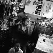 APUNTES SOBRE MI VIDA: LA PASTORA I - 2009/10<br /> Photography by Aaron Sosa<br /> Carmen Montilla, la mayor de las 3 hermanas (Aida, Irma y Carmen) Es la madre de Mario Montilla, abuela de Mario Antonio.<br /> La Pastora, Caracas - Venezuela 2009<br /> (Copyright © Aaron Sosa)