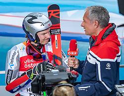 02.03.2020, Hannes Trinkl Weltcupstrecke, Hinterstoder, AUT, FIS Weltcup Ski Alpin, Riesenslalom, Herren, 2. Lauf, im Bild Henrik Kristoffersen (NOR, 3. Platz) // third placed Henrik Kristoffersen of Norway after his 2nd run of men's Giant Slalom of FIS ski alpine world cup at the Hannes Trinkl Weltcupstrecke in Hinterstoder, Austria on 2020/03/02. EXPA Pictures © 2020, PhotoCredit: EXPA/ Johann Groder