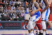 DESCRIZIONE : Campionato 2015/16 Serie A Beko Dinamo Banco di Sardegna Sassari - Grissin Bon Reggio Emilia<br /> GIOCATORE : Christian Eyenga<br /> CATEGORIA : Tiro Tre Punti Three Point<br /> SQUADRA : Dinamo Banco di Sardegna Sassari<br /> EVENTO : LegaBasket Serie A Beko 2015/2016<br /> GARA : Dinamo Banco di Sardegna Sassari - Grissin Bon Reggio Emilia<br /> DATA : 23/12/2015<br /> SPORT : Pallacanestro <br /> AUTORE : Agenzia Ciamillo-Castoria/C.Atzori