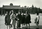 C008-15_Tom Hutchins_Pakistani visitors, Tiananmen square, Peking, China,1956 A3.tif