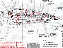 Key Plan. New Haven Rail Yard, Independent Wheel True Facility. CT-DOT Project # 0300-0139, New Haven CT. Progress Photograph of Construction Progress Photo Shoot 7 on 18 January 2012