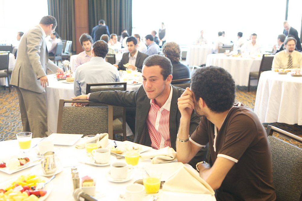 The Bronfman Israel Experience Centre hosts a special breakfast for young Jewish professionals with special guest Pierre Boivin, President of the Montreal Canadiens. The event was held on Tuesday, June 22nd at the Westin Hotel in Montreal, Canada