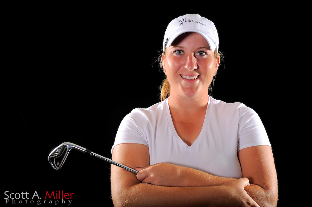 Carrie Riordan during a portrait shoot prior to the LPGA Future Tour's Daytona Beach Invitational at LPGA International's Championship Courser on March 28, 2011 in Daytona Beach, Florida... ©2011 Scott A. Miller