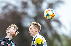05.05.2019, TGW Arena, Pasching, AUT, 1. FBL, LASK vs RZ Pellets WAC, Meistergruppe, 29. Spieltag, im Bild Kevin Friesenbichler (WAC), Philipp Wiesinger (LASK) // during the tipico Bundesliga master group 29th round match between LASK and RZ Pellets WAC at the TGW Arena in Pasching, Austria on 2019/05/05. EXPA Pictures © 2019, PhotoCredit: EXPA/ JFK