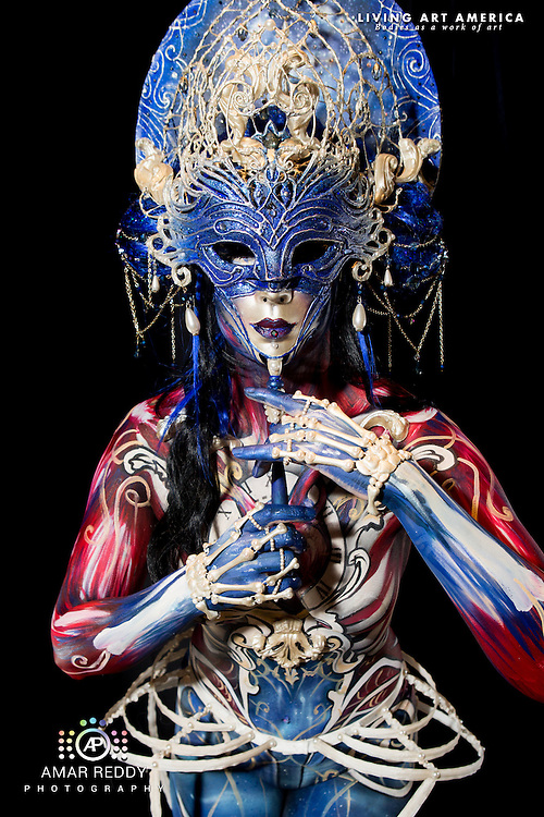 Living Art America::The Bodies Works of Art::The North American Body Painting Championship | A World Body-painting Association Sanctioned Event <br /> <br /> Artist: Lorie Hamel, <br /> Model:&nbsp;Myriam St-Louis,<br /> Photographer: Amar Reddy<br /> <br /> www.livingartamerica.com<br /> www.AmarPhotography.com