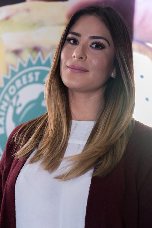 Ciudad de Mexico, 14/01/2016. Casa Lamm. Representantes de Magnum, marca de paletas de hielo, expusieron la relación y certificacion que recibieron de la ONG Rain Forest Alliance. Melissa Lopez.