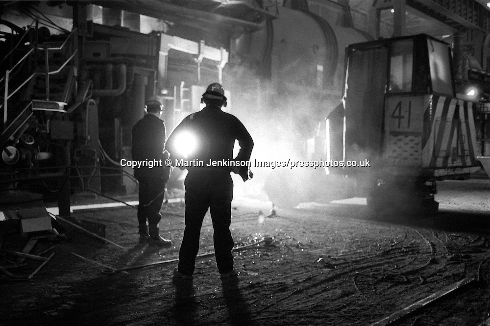 Melting shop British Steel Templeborough.