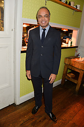 DR NISH JOSHI at a party to celebrate the publication of 'Honestly Healthy For Life' by Natasha Corrett held at Bumpkin, 209 Westbourne Park Road, London on 26th March 2014.