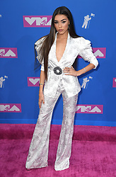 Madison Beer arriving at the MTV Video Music Awards 2018, Radio City, New York. Photo credit should read: Doug Peters/EMPICS