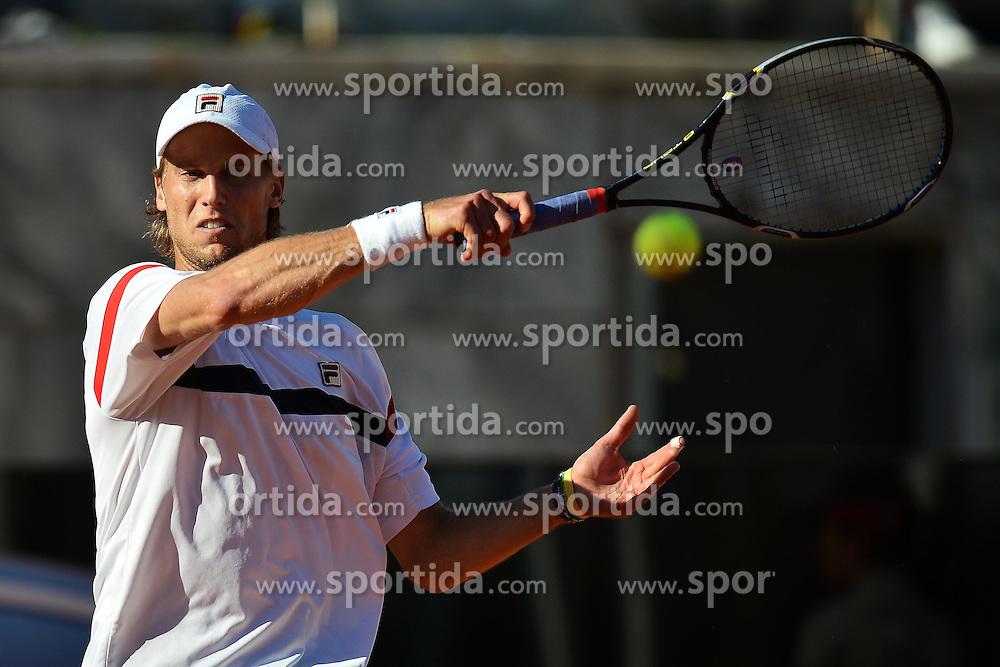 17.05.2012, Foro Italico, Rom, ITA, ATP World Tour, Internationali BNL d Italia, im Bild Andreas Seppi Italy // during the ATP World Tour, Internationali BNL d Italia at the Foro Italico, Rome, Italy on 2012/05/17. EXPA Pictures © 2012, PhotoCredit: EXPA/ Insidefoto/ Andrea Staccioli..***** ATTENTION - for AUT, SLO, CRO, SRB, SUI and SWE only *****