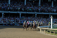 141st Kentucky Derby, Run for the Roses, Louisville, KY, USA - May1-2, 2015;  Churchill Downs,<br /> 1st-#10, American Pharoah, 2nd-#18, Firing Line, 3rd-#8, Dortmund.