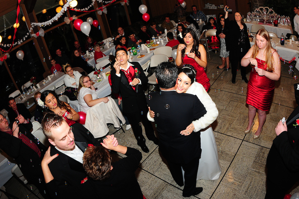 Martha and Jimmy's wedding.  December 31, 2011.  Beaverton OR.    Portland photographer Phil Sedgwick.