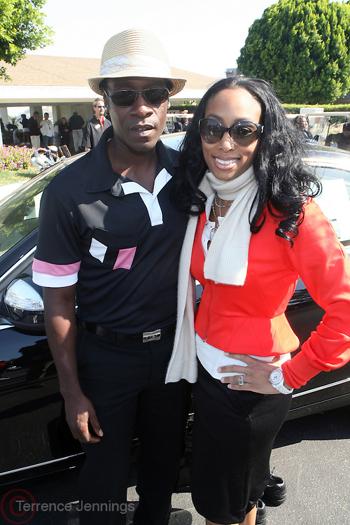 l to r: Don Cheadle and Michelle Murray of ALIZÉ at ?Kiki's 1st Annual Celebrity Golf Challenge? Presented by ALIZÉ, The Premium Liqueur held at The Braemar Country Club on October 134, 2008 in Tarzana, Ca..KiKi?s Celebrity Golf Challenge (CGC) - conceived and spearheaded by Ms. Shepard ? is a fundraising event to benefit The K.I.S. Foundation, Inc.  The central mission of The K.I.S. Foundation is to inform and educate the public, raise awareness about Sickle Cell Disease through community outreach programs and educational scholarships, and to financially help support the efforts of research institutions to find a universal cure. Sickle Cell Disease is an inherited, non-contagious blood disease that can be crippling, painful, and life threatening. The K.I.S. Foundation Awards Banquet will also honor individuals and organizations who have selflessly committed themselves in the fight against Sickle Cell Disease..