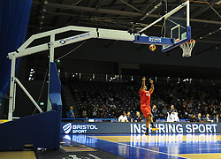 Bristol Sport advertising at the Worcester Arena - Photo mandatory by-line: Dougie Allward/JMP - Mobile: 07966 386802 - 31/10/2014 - SPORT - Football - Worcester - Worcester Arena - Worcester Wolves v Bristol Flyers - British Basketball League Cup