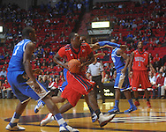 "Ole Miss guard Nick Williams (20) at the C.M. ""Tad"" Smith Coliseum in Oxford, Miss. on Tuesday, February 1, 2011. Ole Miss won 71-69."