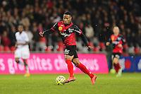 Claudio BEAUVUE - 03.12.2014 - Guingamp / Caen - 16eme journee de Ligue 1 <br />Photo : Vincent Michel / Icon Sport