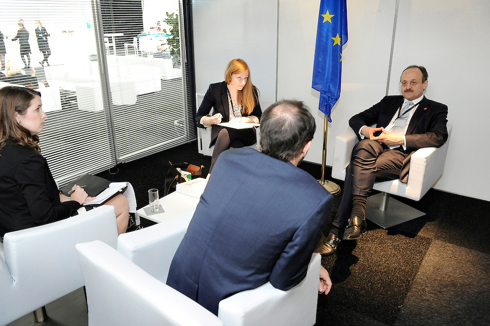 20150603- Brussels - Belgium - 03 June2015 - European Development Days - EDD  - Klaus Rudischlauser Devco and Alex Their Usaids © EU/UE