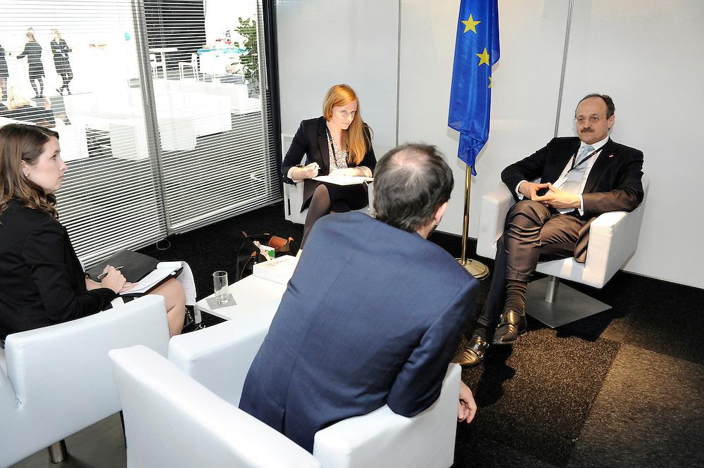 20150603- Brussels - Belgium - 03 June2015 - European Development Days - EDD  - Klaus Rudischlauser Devco and Alex Their Usaids © EU/UE