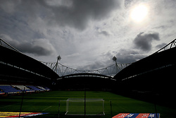 A general view of the University of Bolton Stadium before the Sky Bet Championship game between Bolton Wanderers v Queens Park rangers.