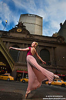 Grand Central Station Ballerina Briony West Dance As Art New York City Photography Project