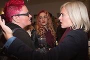 SUE BLACK; JESS WAHLS; BRIONY KIMMINGS, The Other Club, Kingly Court, Soho. London. 15 November 2013