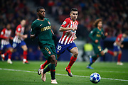 Jemerson of Monaco and Angel Correa of Atletico de Madrid during the UEFA Champions League, Group A football match between Atletico de Madrid and AS Monaco on November 28, 2018 at Wanda Motropolitano stadium in Madrid, Spain - Photo Oscar J Barroso / Spain ProSportsImages / DPPI / ProSportsImages / DPPI