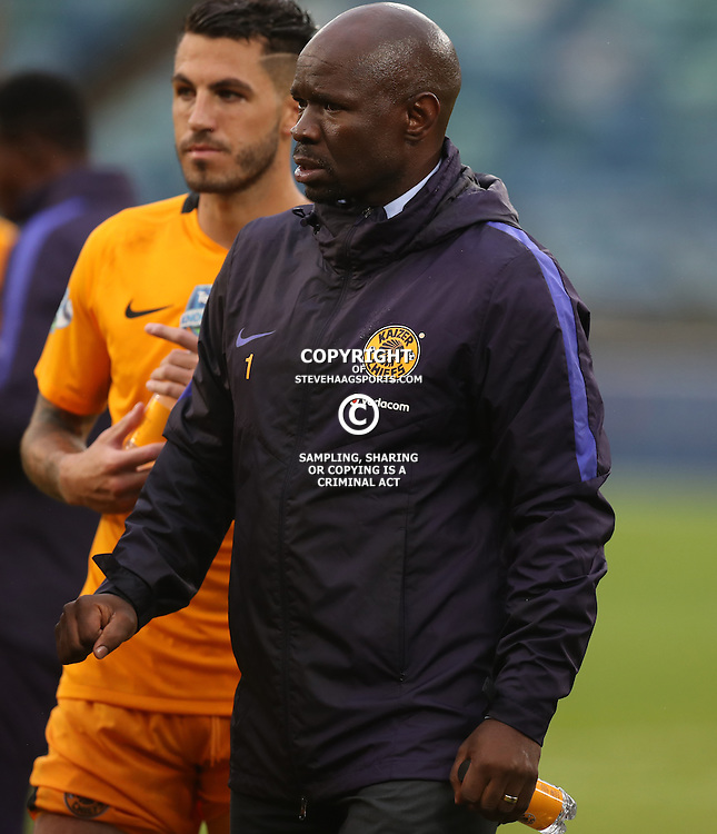 Steve Komphela (Head Coach) of Kaizer Chiefs during the Telkom Knockout quarterfinal  match between Kaizer Chiefs and Free State Stars at the Moses Mabhida Stadium , Durban, South Africa.6 November 2016 - (Photo by Steve Haag Kaizer Chiefs)