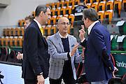 DESCRIZIONE : Beko Legabasket Serie A 2015- 2016 Dinamo Banco di Sardegna Sassari - Manital Auxilium Torino<br /> GIOCATORE : Antonio Forni Federico  Pasquini<br /> CATEGORIA : Before Pregame Ritratto Fair Play<br /> EVENTO : Beko Legabasket Serie A 2015-2016<br /> GARA : Dinamo Banco di Sardegna Sassari - Manital Auxilium Torino<br /> DATA : 10/04/2016<br /> SPORT : Pallacanestro <br /> AUTORE : Agenzia Ciamillo-Castoria/C.Atzori