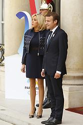 September 15, 2017 - Paris, France, France - Brigitte et Emmanuel Macron (Credit Image: © Panoramic via ZUMA Press)