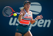 Danielle Collins of the United States in action during the first round of the 2018 US Open Grand Slam tennis tournament, at Billie Jean King National Tennis Center in Flushing Meadow, New York, USA, August 28th 2018, Photo Rob Prange / SpainProSportsImages / DPPI / ProSportsImages / DPPI