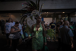 June 24, 2017 - Naples, Italy - Mediterranean Pride of Naples is a parade for claiming the civil rights of the LGBTQI community. The central themes of the Mediterranean Pride of Naples 2017 will be the Body and the ability of self-determination. (Credit Image: © Michele Amoruso/Pacific Press via ZUMA Wire)