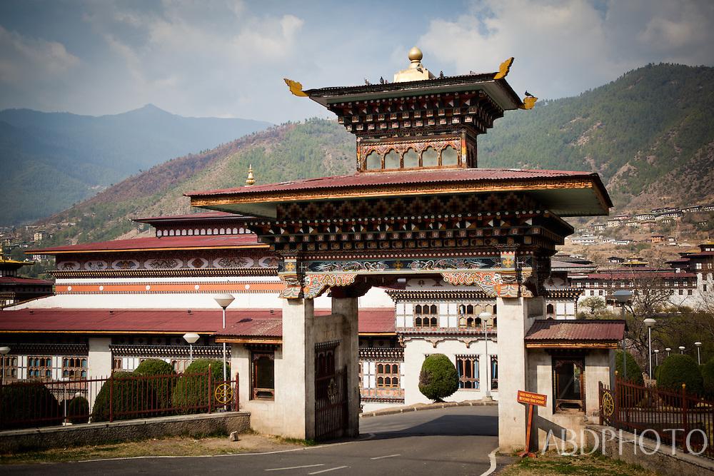 thimphu royal palace Bhutan Asia