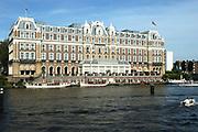 Het Amstel Hotel is een luxueus hotel in Amsterdam. Het is onderdeel van de hotelketen InterContinental en de officiële naam luidt InterContinental Amstel Amsterdam. Het gebouw bevindt zich tussen het Professor Tulpplein en de Amstel, vlakbij de Sarphatistraat. // The Amstel Hotel has taken a significant place in the Dutch history of hotels. Since the opening in 1867 the InterContinental Amstel Amsterdam has been recognised as the Netherlands' first and most renowned Grand Hotel and ranks with the best hotels in the world.