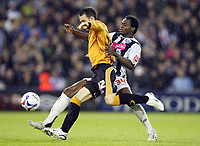 Photo: Rich Eaton.<br /> <br /> West Bromwich Albion v Wolverhampton Wanderers. Coca Cola Championship. Play off Semi Final 2nd Leg. 16/05/2007. West Broms Sam Sodje right gets to the ball ahead of Wolves Michael McIndoe