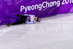 22-02-2018 KOR: Olympic Games day 13, PyeongChang<br /> Short Track Speedskating / Yira Seo of Korea
