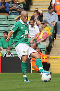 Marc Tierney in action during the pre season friendly at Carrow Road Stadium, Norwich...Picture by Paul Chesterton/Focus Images Ltd.  07904 640267.6/8/11