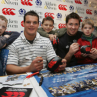 Rugby Players at Aiken & Niven, Perth..26.10.2004.<br />