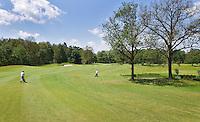 ESBEEK - Hole 3. par 5. Midden-Brabant Golfbaan. COPYRIGHT KOEN SUYK