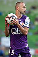 MELBOURNE, VIC - JANUARY 19: Perth Glory defender Ivan Franjic (5) throws in the ball at the Hyundai A-League Round 14 soccer match between Melbourne City FC and Perth Glory at AAMI Park in VIC, Australia 19th January 2019. Image by (Speed Media/Icon Sportswire)