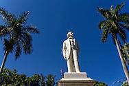 Havana Vieja, Cuba. Monumento a Carlos Manuel de Céspedes, Havana Vieja, Cuba.