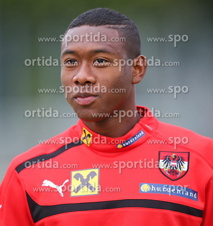 03.09.2013, Ernst Happel Stadion, Wien, AUT, FIFA WM Qualifikation, Oesterreich vs Deutschland, Training OEFB, im Bild David Alaba, (AUT, #8) // during a training session of Team Austria (AUT) in front of the FIFA World Cup Qualifier Match between Austria (AUT) and Germany (GER) at the Ernst Happel Stadion, Vienna, Austria on 2013/09/03. EXPA Pictures © 2013, PhotoCredit: EXPA/ Thomas Haumer