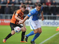 Eastleighs Craig Stanley, Barnet v Eastleigh, Vanarama Conference, Saturday 4th October 2014