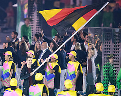 05.08.2016, Maracana, Rio de Janeiro, BRA, Rio 2016, Olympische Sommerspiele, Eröffnung der XXXI. Olympiade, im Bild x // x during the Opening Ceremony of the Rio XXXI 2016 Olympic Summer Games at the Maracana in Rio de Janeiro, Brazil on 2016/08/05. EXPA Pictures © 2016, PhotoCredit: EXPA/ Johann Groder