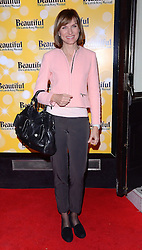 Fiona Bruce attends Beautiful - The Carole King Musical at The Aldwych Theatre, The Aldwych, London on Tuesday 24 February 2015 February 2015