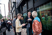 RHYS IFANS, Opening of  Lazarides new gallery.  11 Rathbone Place | Group show | 14 May 2009